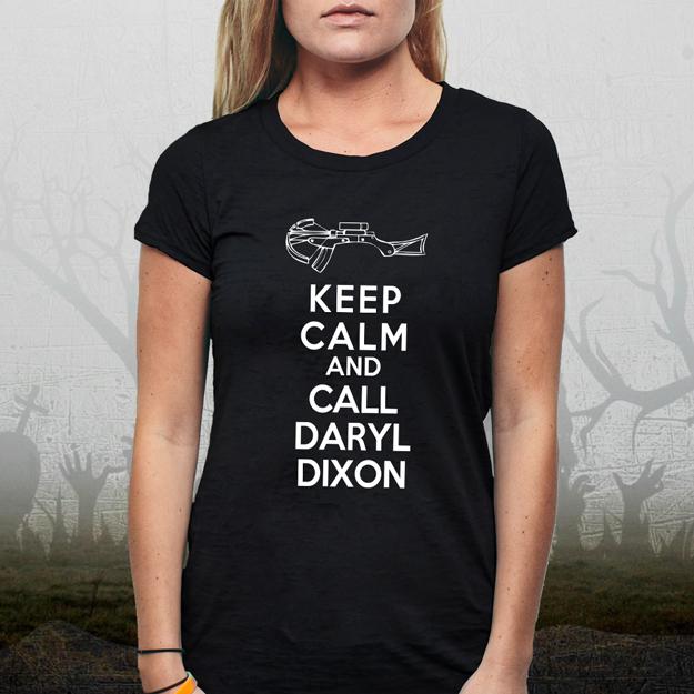... Shirts / Humour / Keep Calm and Call Daryl Dixon: Ladies T-Shirt