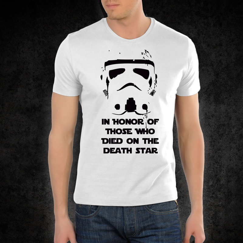 Storm Trooper In Honor Tee Shirt I