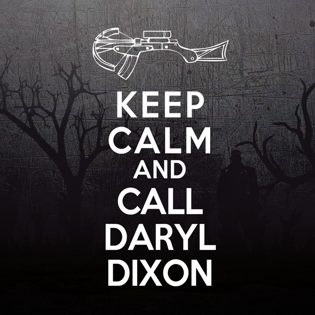 Keep Calm and Call Daryl Dixon  Ladies T-Shirt d3904904ef